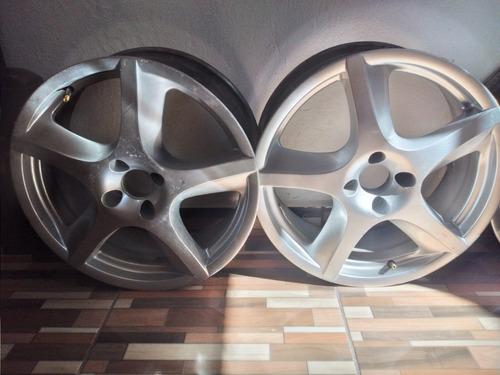 rodas liga leve aro 17 vem nelas e 1 pneu 185/35