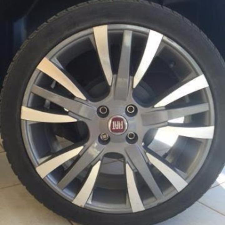 rodas palio sporting 17 pneus 205 40 17 uno strada punto r em mercado livre. Black Bedroom Furniture Sets. Home Design Ideas