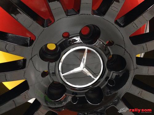 rodas réplicas da mercedes a-45 e cla-45 amg em aro 19