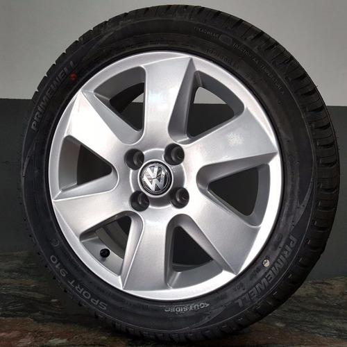 rodas saveiro surf 15 pneus 195 50 15 novos g3 g4 r em mercado livre. Black Bedroom Furniture Sets. Home Design Ideas