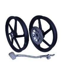 rodas titan 150 scud c/ freio disco traseiro e dianteiro