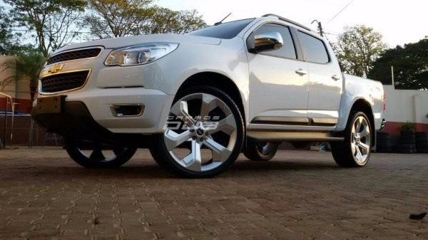 Rodas Trailblazer Aro 20 +pneus Pajero Hilux S10 L200 Vw ...
