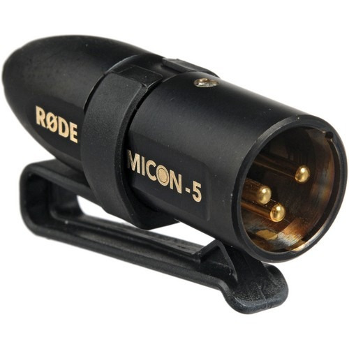 rode micon-5 plug adaptador