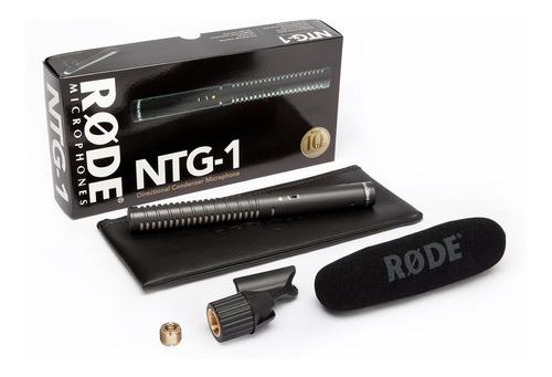 rode ntg1 microfono boom condensador broadcast camara cine