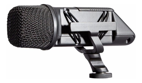 rode svm stereo videomic microfono boom p/ camara 9v