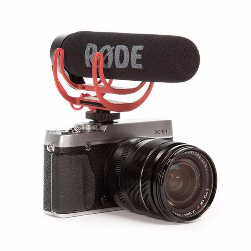 rode video microfone go shotgun canon nikon sony videomic