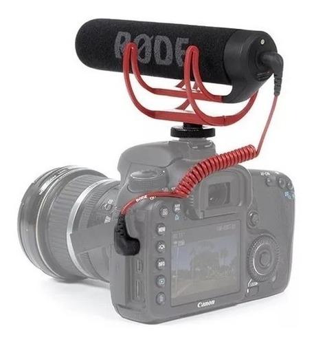 rode videomic go microfono boom p/ camara suspension rycote