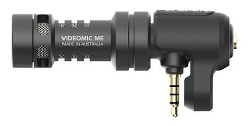 rode videomic me microfono boom celular iphone + paraviento