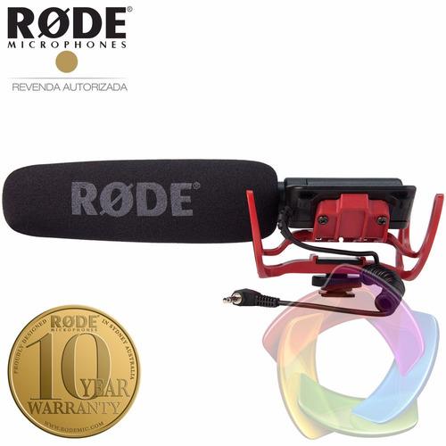 rode videomic rycote microfone direcional shotgun p/ câmeras