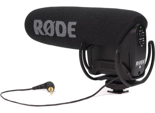 rode vmp videomic pro microfono boom condensador p/ camara