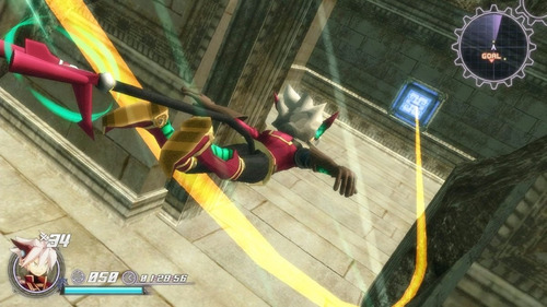 rodea the sky soldier - 3ds - sellado*