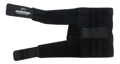 rodillera abierta deportiva w/ silicona branson premium