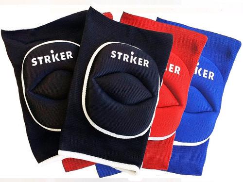 rodillera acolchada striker - patín, mma, hockey, voley