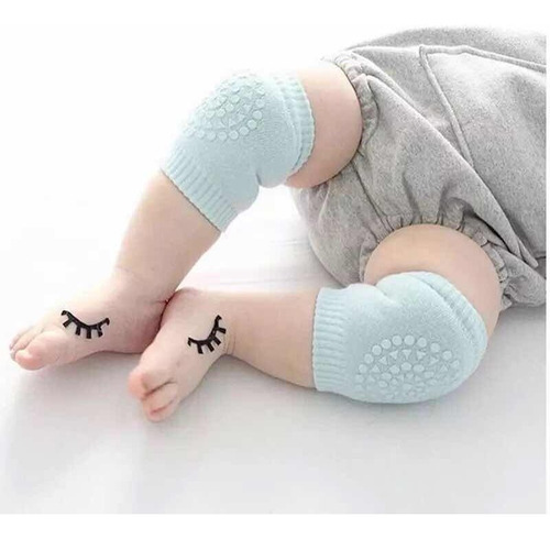 rodillera bebé gateador anti deslizante 3 pares