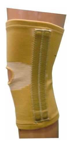rodillera con varillas flexibles