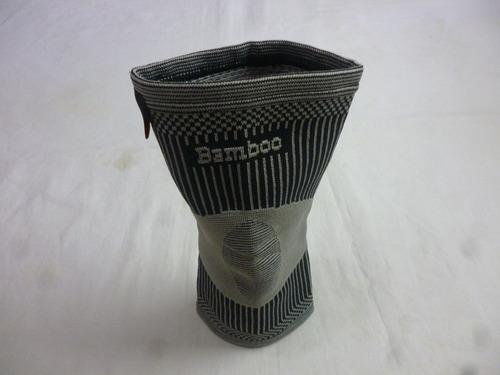 rodillera de compresión branson hilos de bamboo premium