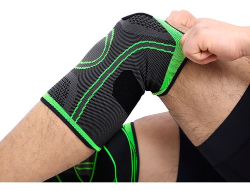rodillera elástica de compresión gimnasio correr deporte