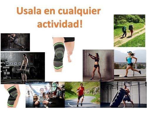 rodillera elastica de compresion gym correr crossfit