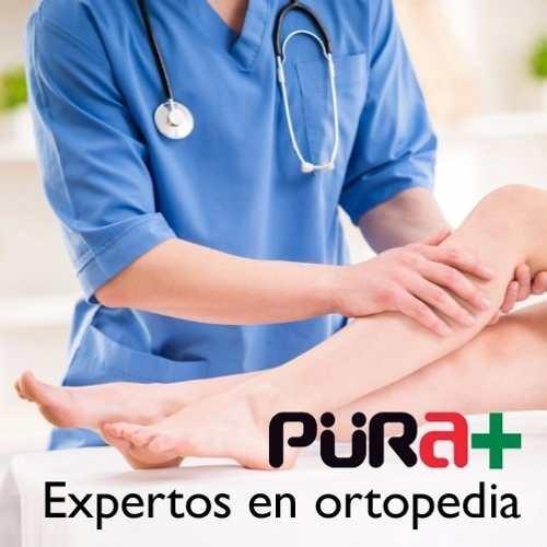 rodillera ortopedica elastica hueco pura +