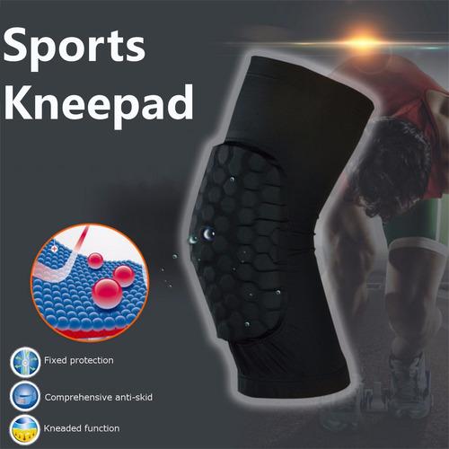 rodillera pad basquetbol proteccion compresion lesiones