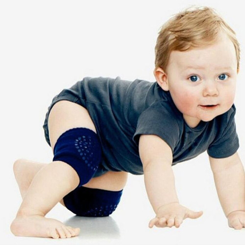 rodillera para bebé gateador anti deslizante colores