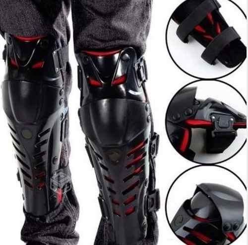 rodilleras de moto / motocross articuladas full proteccion