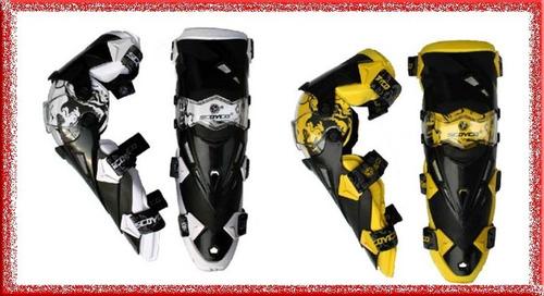 rodilleras moto scoyco k12 .100% originales. full protección