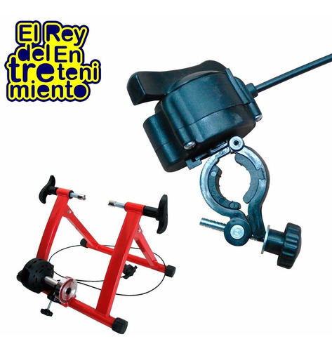rodillo ciclismo c/regulación entrenamiento bicicleta el rey
