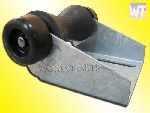 rodillo cónico de 150 mm con base para trailer náutico