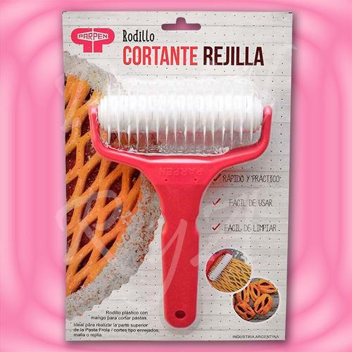 rodillo cortante rejilla / enrejado / pasta frola  parpen