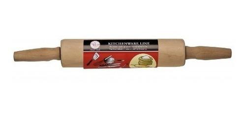 rodillo de amasar en madera smart cook