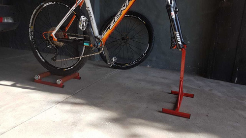 rodillo de entrenamiento economic+soporte rueda delantera