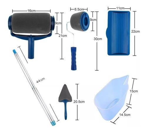 rodillo de microfibra recargable udovo antigoteo 900ml + acc