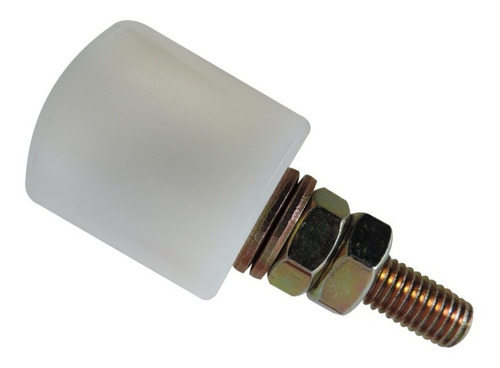 rodillo de nylon para porton corredizo 30 30mm