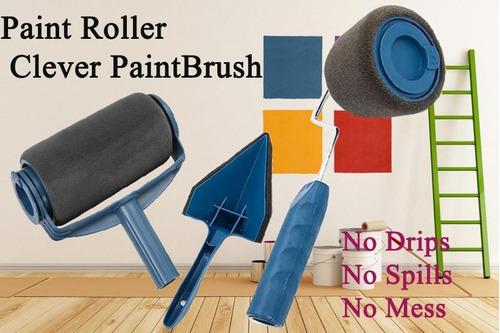 rodillo de pintura pintar recargable tv pintar casa
