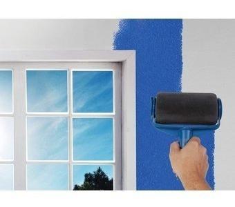 rodillo de pintura recargable tv pintar+envio azul claro
