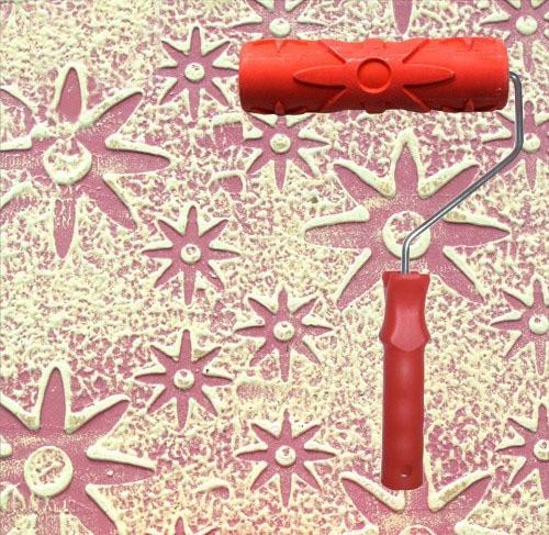 rodillo decorativo - para texturizar 17 cm
