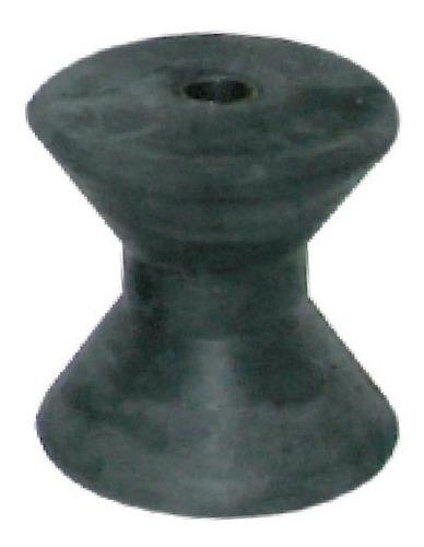 rodillo doble cono para trailer mini de goma 85 mm