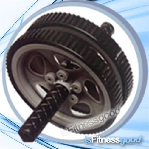 rodillo doble rueda abdominal rueda abdomen