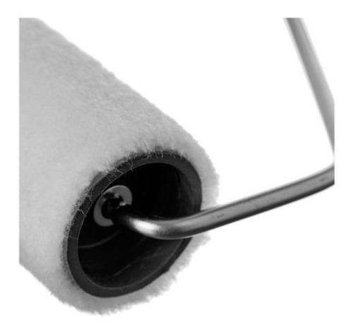 rodillo epoxi pelo corto latex sintetico laca 17 cm