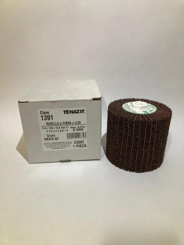 rodillo fibra con lija grano 80 clave 1391 tenazit/austromex