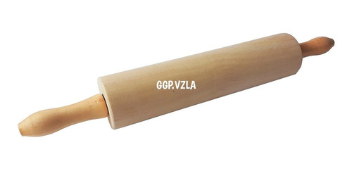 rodillo giratorio de repostería madera melina 50 cm