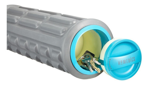 rodillo homedics vibratorio texturado masaje cilindro frol