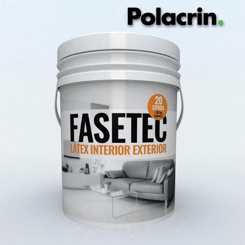 rodillo latex lana pintura blanca polacrin 20 oferta fasetec