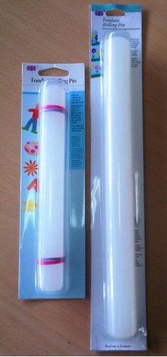 rodillo liso especial para fondant mediano de 32 cm nuevo