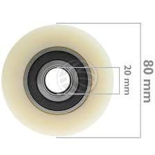 rodillo o rueda de carga traspaleta 3  x 3