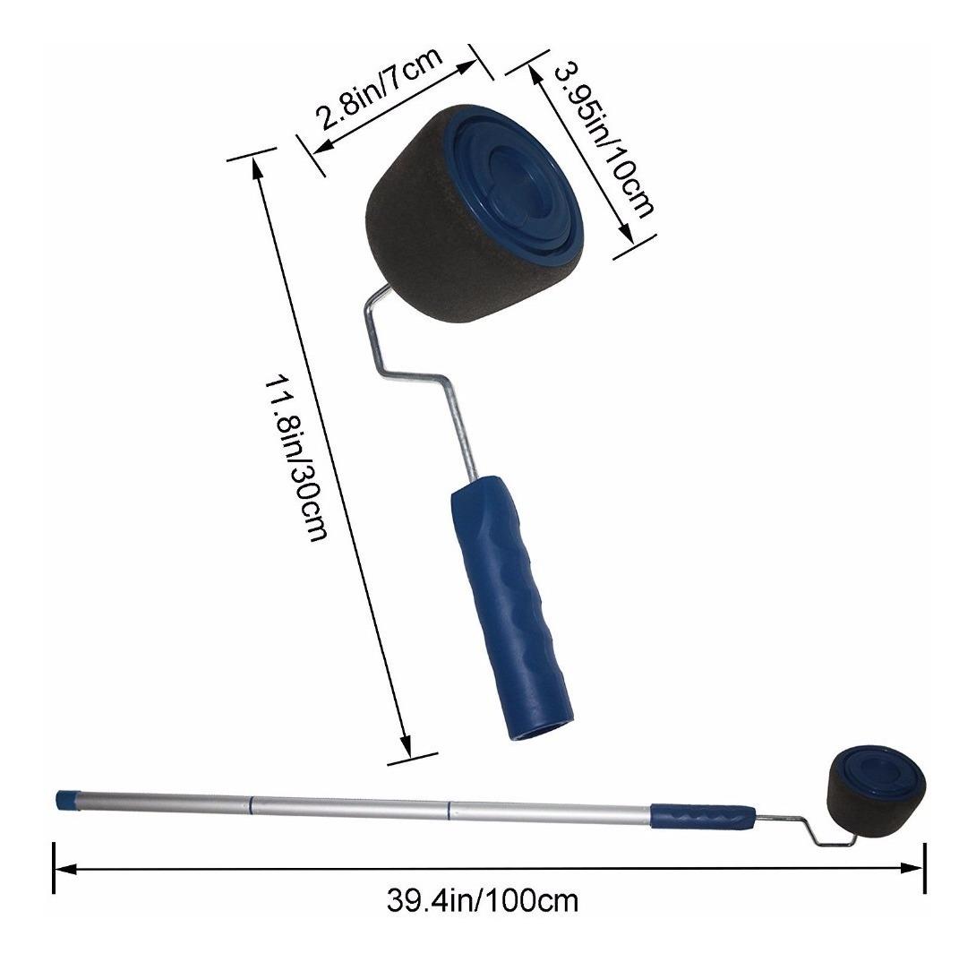 Rodillo Para Pintar Rellenable Microfibra Runner C Esquinero