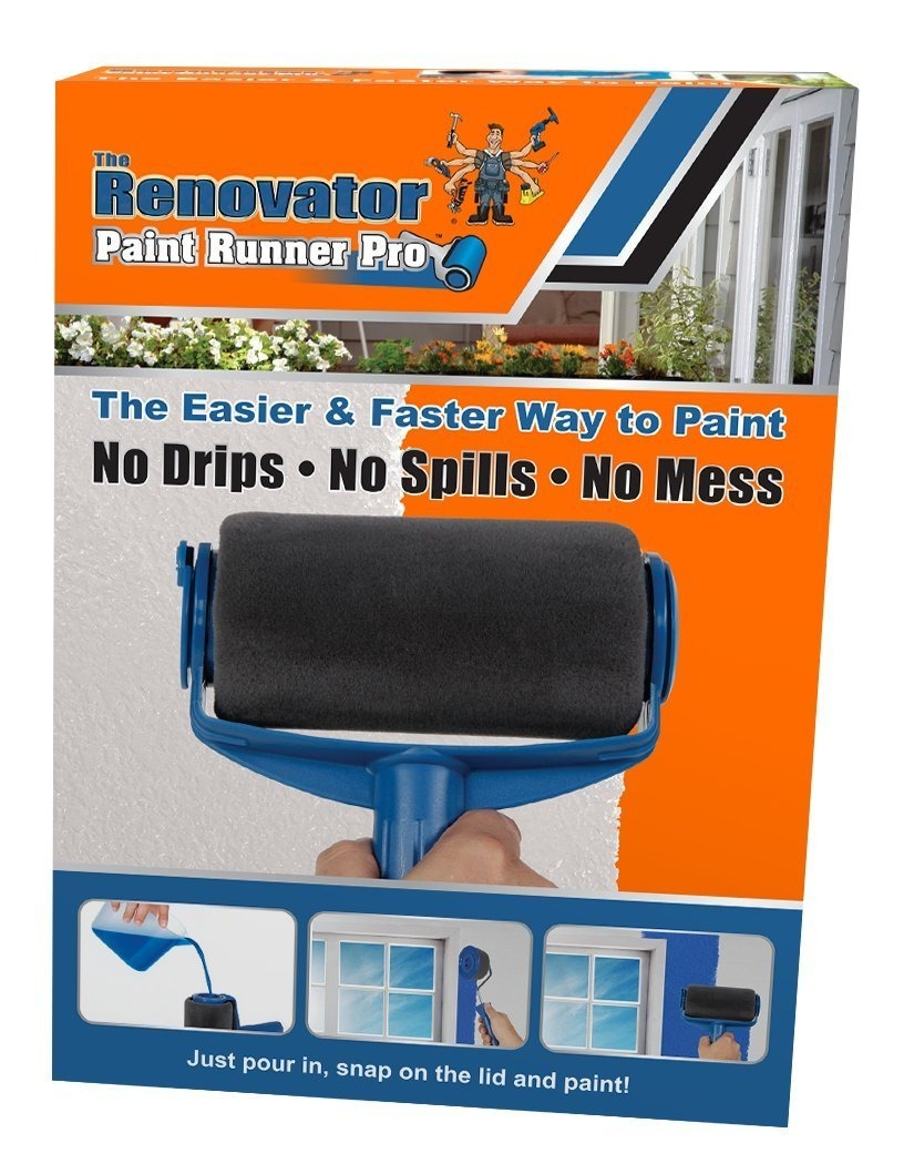 rodillo para pintura paint runner pro manoslibres entrega ya en mercado libre. Black Bedroom Furniture Sets. Home Design Ideas
