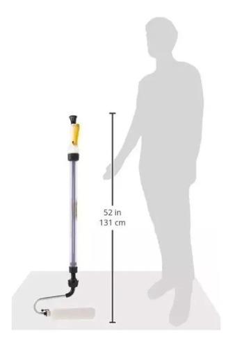 rodillo recargable extensor 23 x 131 cm dosificador latex mm
