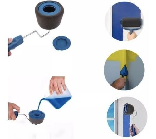 rodillo recargable para pintar facil y limpio completo tv